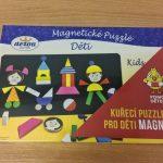 Magnetické puzzle Děti + dílky Kuře