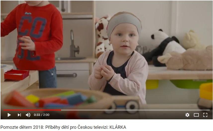 Příběhy dětí pro ČT 2018: Klárka