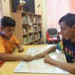 Děti Mapa