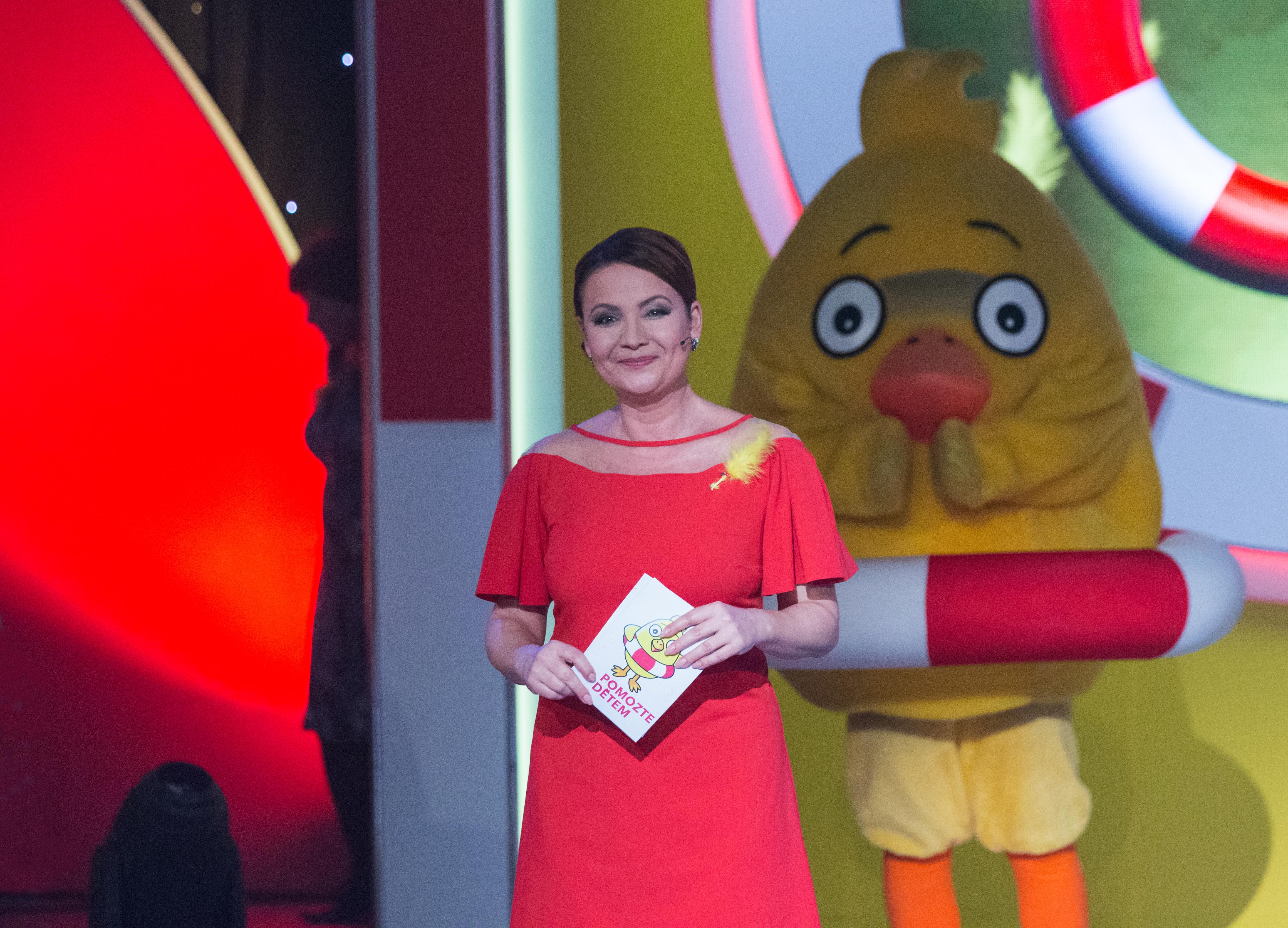 Pomozte dětem_2018, pořad natáčený Českou televizí 2.dubna 2018 ve studiu 4 na Kavčích horách v Praze 4.
