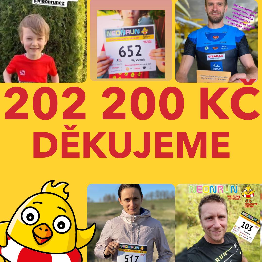 1 145 běžců po celé ČR pomáhalo dětem